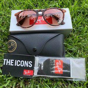 Ray-Ban Sunglasses 4171 54mm Tan lenses
